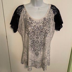 Maurices Sequin Sexy Tee T-shirt XL